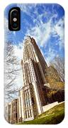 The Cathedral Of Learning 1 IPhone Case