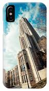 The Cathedral Of Learning 3 IPhone Case