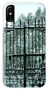 The Cemetery Gates IPhone X Case