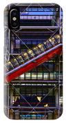 The Centre Pompidou II-paris IPhone X Case