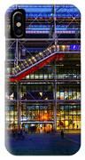 The Centre Pompidou-paris IPhone X Case