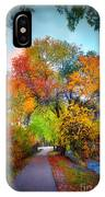 The Changing Tree IPhone Case