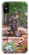 The Children Sculpture Garden - Santa Fe IPhone Case