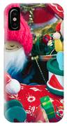 The Christmas Clown II IPhone Case