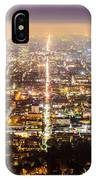 The City Grid IPhone Case