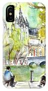 The City Park In Budapest 01 IPhone Case