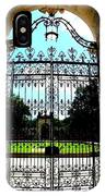The Gate At Vizcaya IPhone Case