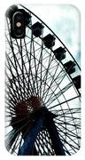 The Cloudy Wheel IPhone Case