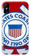 The Coast Guard Shield IPhone Case