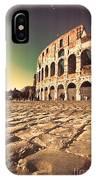 The Coliseum In Rome IPhone Case