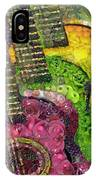The Color Of Music In The Way Of Arcimboldo IPhone Case