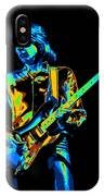 The Colorful Sound Of Mick Playing Guitar IPhone Case