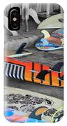 The Colorfulness Of Surfing IPhone Case