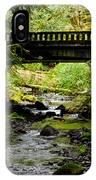 The Coming Of Autumn - Barnes Creek - Lake Crescent - Washington IPhone Case