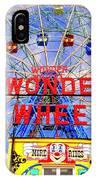 The Coney Island Wonder Wheel IPhone Case