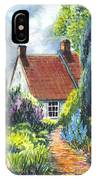 The Cottage Garden Path IPhone Case