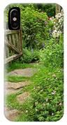 The Cottage Garden Walkway IPhone Case