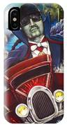 The Count Cool Rider IPhone Case