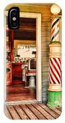The Country Barber IPhone Case