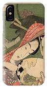 The Courtesan Tsukasa From The Ogiya House Tanabata. Star Festival  IPhone Case