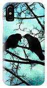 The Courtship Of Crows IPhone Case