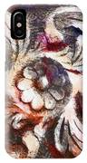 The Crayoned Leaves  IPhone Case