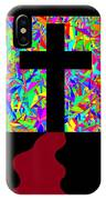 The Cross In Fauvism IPhone Case