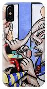 The Cubist Doctor Md IPhone Case