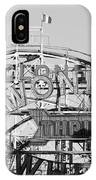 The Cyclone In Black And White IPhone Case