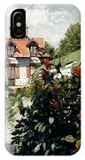 The Dahlias Garden At Petit Gennevilliers IPhone Case