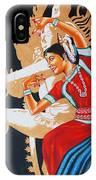 The Dance Divine Of Odissi IPhone Case