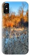 The Dance Of The Cattails IPhone Case