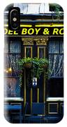 The Del Boy And Rodney Pub IPhone Case