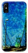 The Delaware Memorial Bridge IPhone Case