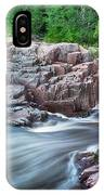 The Dells Of The Eau Claire River  IPhone Case