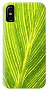 The Detail Of Plant Leaf, Salt Lake IPhone Case
