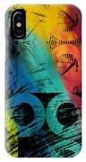 The Diagram Abstract Art  IPhone Case