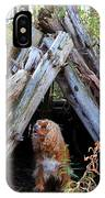 The Dog In The Teepee IPhone Case