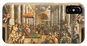 The Donation Of Rome. IPhone Case