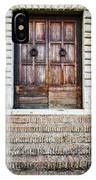 The Door At Number 5 IPhone Case