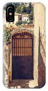 The Door With Overview Of Ronda IPhone Case
