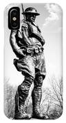 The Doughboy - Tribute To The American Expeditionary Forces Of World War 1 IPhone Case