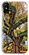 The Dueling Oak Painted IPhone Case