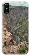 The Edge Of Back Canyon IPhone Case