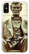The  Emancipation Proclamation And Abraham Lincoln IPhone Case