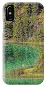 The Emerald Green Waters Of Emerald IPhone Case