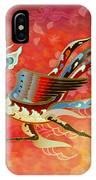 The Empress - Flight Of Phoenix - Red Version IPhone Case