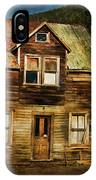The Empty House IPhone Case