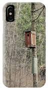 Birdhouse Environment Of Hamilton Marsh  IPhone Case