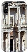 The Ephesus Library In Turkey IPhone Case